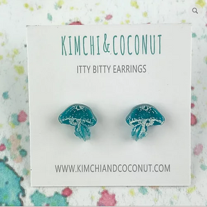 Earrings - Jellyfish-Kimchi and Coconut-Rosie Sorrell