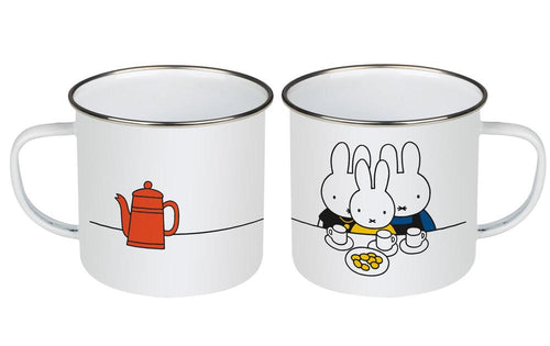 Enamel Mug - Miffy Tea