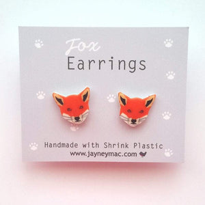 Fox Earrings-Jayney Mac-Rosie Sorrell