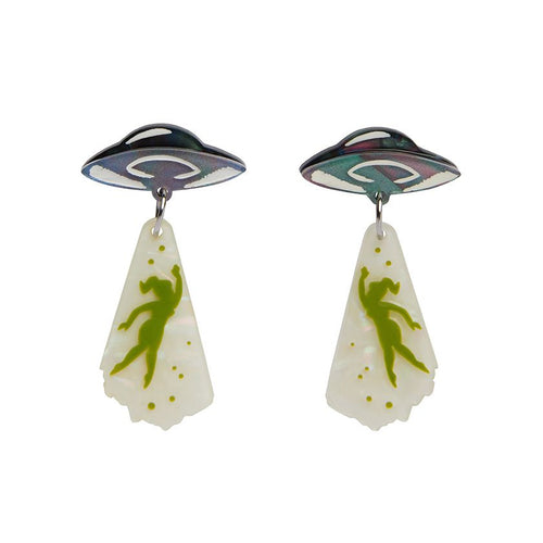 Erstwilder - The Truth is Out There Drop Earrings-Erstwilder-Rosie Sorrell