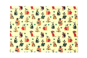 Moomins Table Mat - Retro 50s Pattern-Rosie Sorrell-Rosie Sorrell