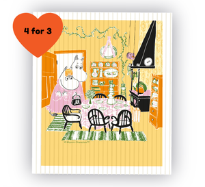Moomin Dish Cloth - Moomin Kitchen-Opto Design-Rosie Sorrell