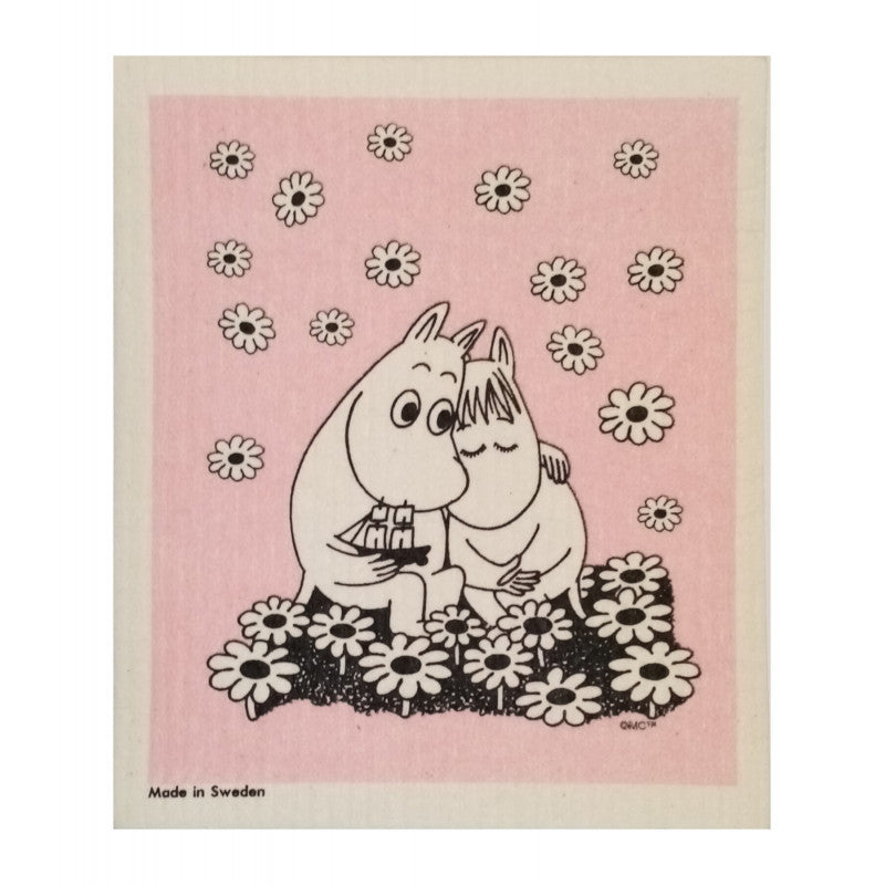 Dish Cloth - Moomin Love-Rosie Sorrell