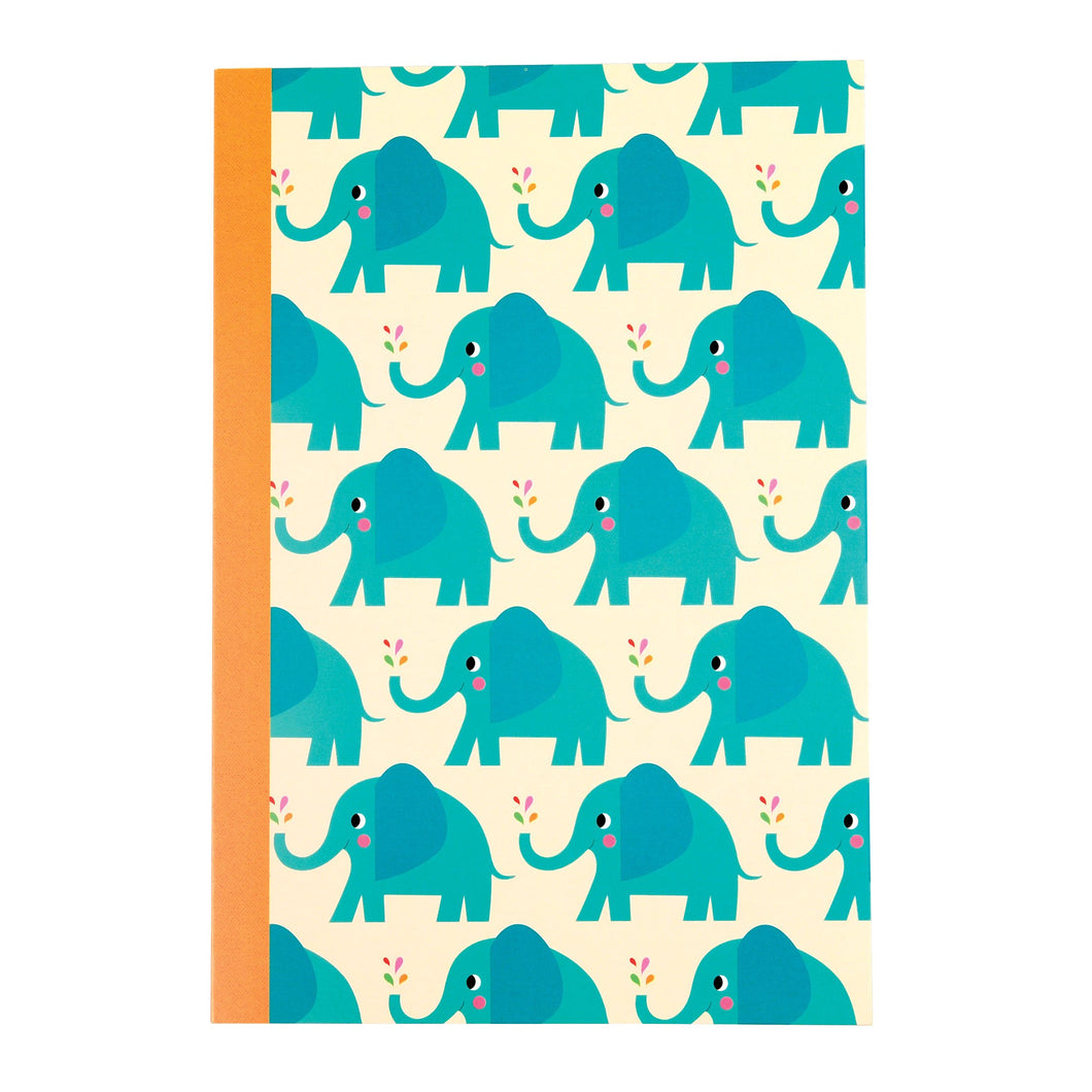 Notebook -Elvis the Elephant A5-Rex London-Rosie Sorrell