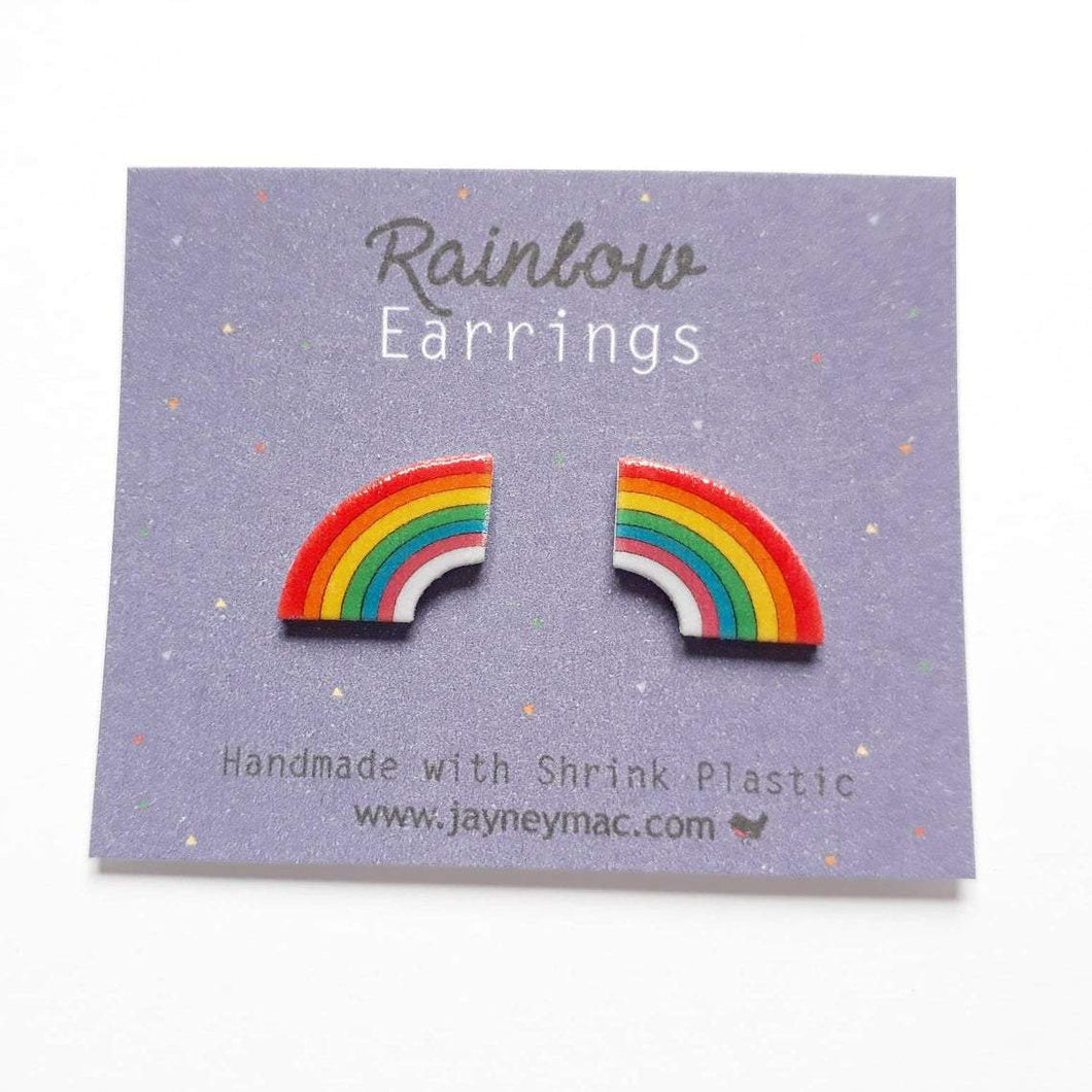 Rainbow Earrings-Jayney Mac-Rosie Sorrell