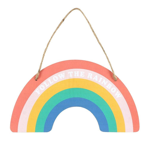 Rainbow Hanging Sign-Rosie Sorrell-Rosie Sorrell