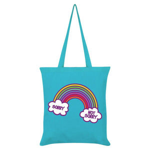 Rainbow Sorry, not sorry Tote Bag-Grindstore-Rosie Sorrell