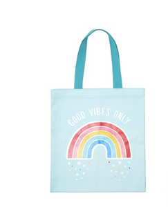 Rainbow Tote Bag-Sass and Belle-Rosie Sorrell