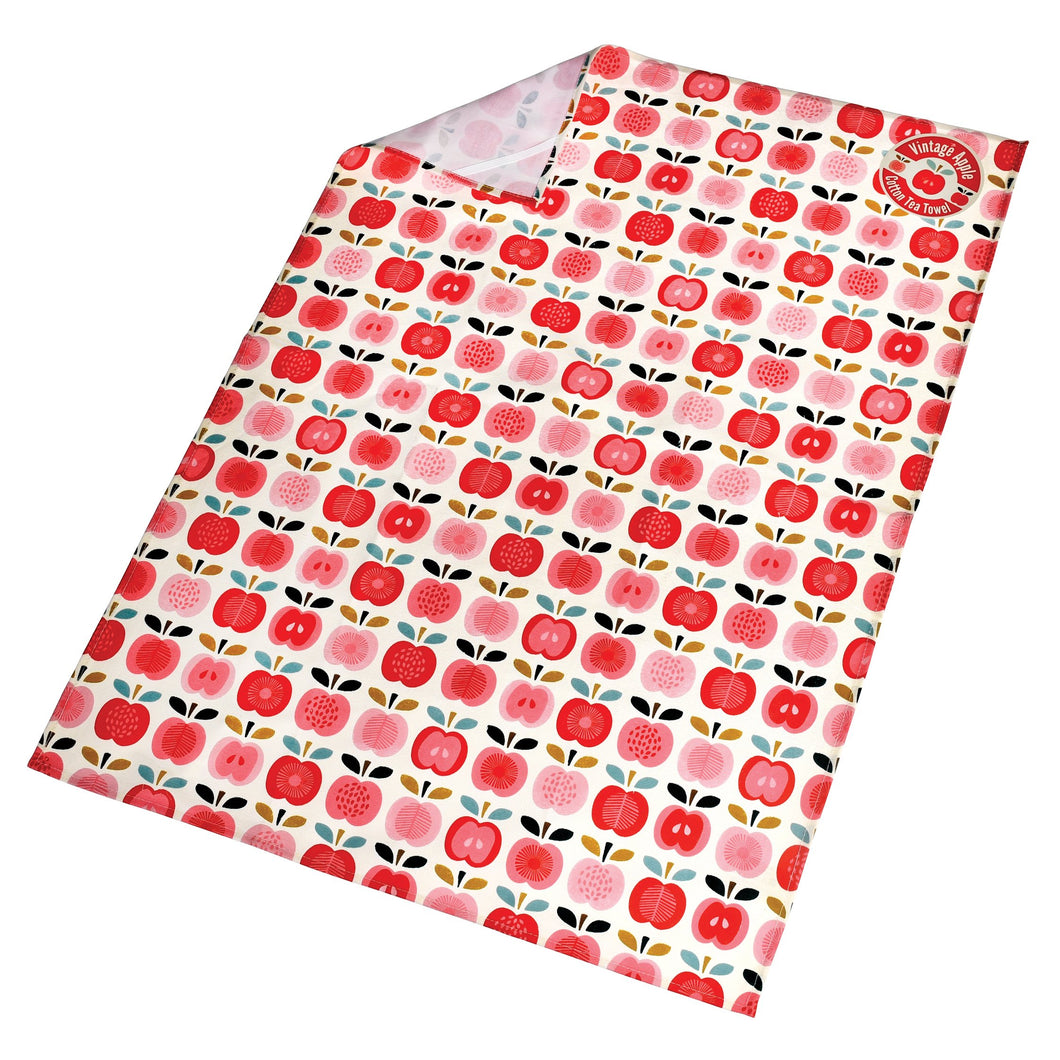 Tea Towel - Vintage Apple-Rex London-Rosie Sorrell