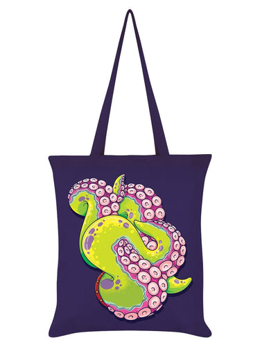Tentacle Tangle Octopus Tote Bag-Grindstore-Rosie Sorrell
