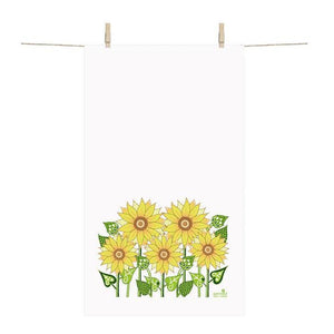 Towel - Sunflowers (Small)-Anneko Design Sweden-Rosie Sorrell