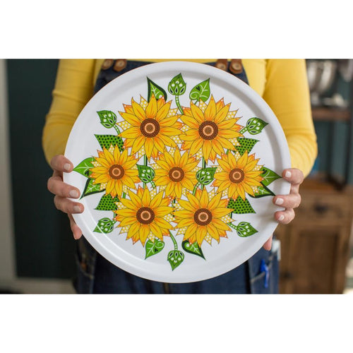 Tray - Big Sunflower-Anneko Design Sweden-Rosie Sorrell