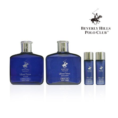 [Bevery Hills] Polo club Snail Mucus function cosmetics set for man