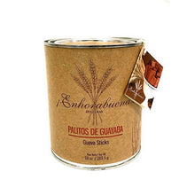 ENHORABUENA - Palitos de Guayaba - Thin Crisp Cookies Made with Real Guava - 10oz. Can