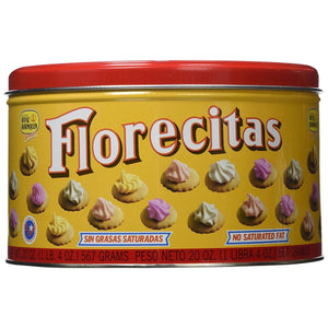 Florecitas Iced Gems Cookies - 20oz. can