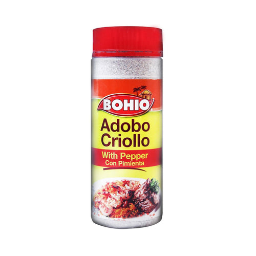 BOHIO Seasoning with Pepper (Adobo Criollo con Pimienta) 16.5 oz