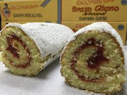 Ricomini Bakery, Puerto Rico's Famous BRAZO GITANO - 12 oz. FRESH! (CHOOSE YOUR FLAVORS)