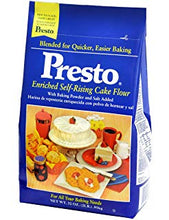 Presto Enriched Self Rising Cake Flour - 32oz.