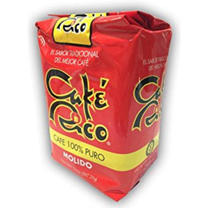 Cafe Rico - Ground Coffee from Puerto Rico, Medium Roast - 8oz.