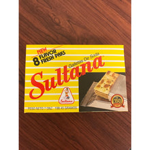 SULTANA - Puerto Rico's Famous Soda Crackers by Royal Borinquen - 7 oz Box