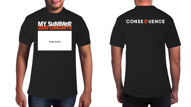 Our New T-Shirt Commemorates the Summer 2020 Concert Season (That Was Not)