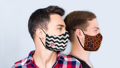 They're Back! The Caretaker and Chevron Masks Now Available Together As 2- and 4-Packs