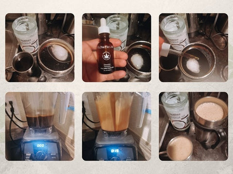 Steps to Bullet Coffee