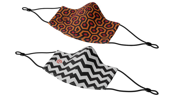 Variety 2-Pack (BEST SELLER) - Caretaker & Chevron w Adjustable Ear Loops