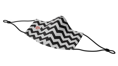 Chevron Mask w/ Adjustable Strap