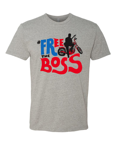 free the boss bruce springsteen arrest dwi t-shirt shirt