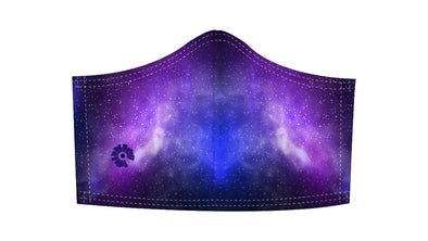 Galaxy Mask w/ Adjustable Ear Loops