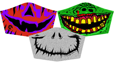 Halloween Novelty 3-Pack w/ Adjustable Ear Loops