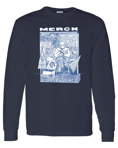 Merch Man Long Sleeve Shirt