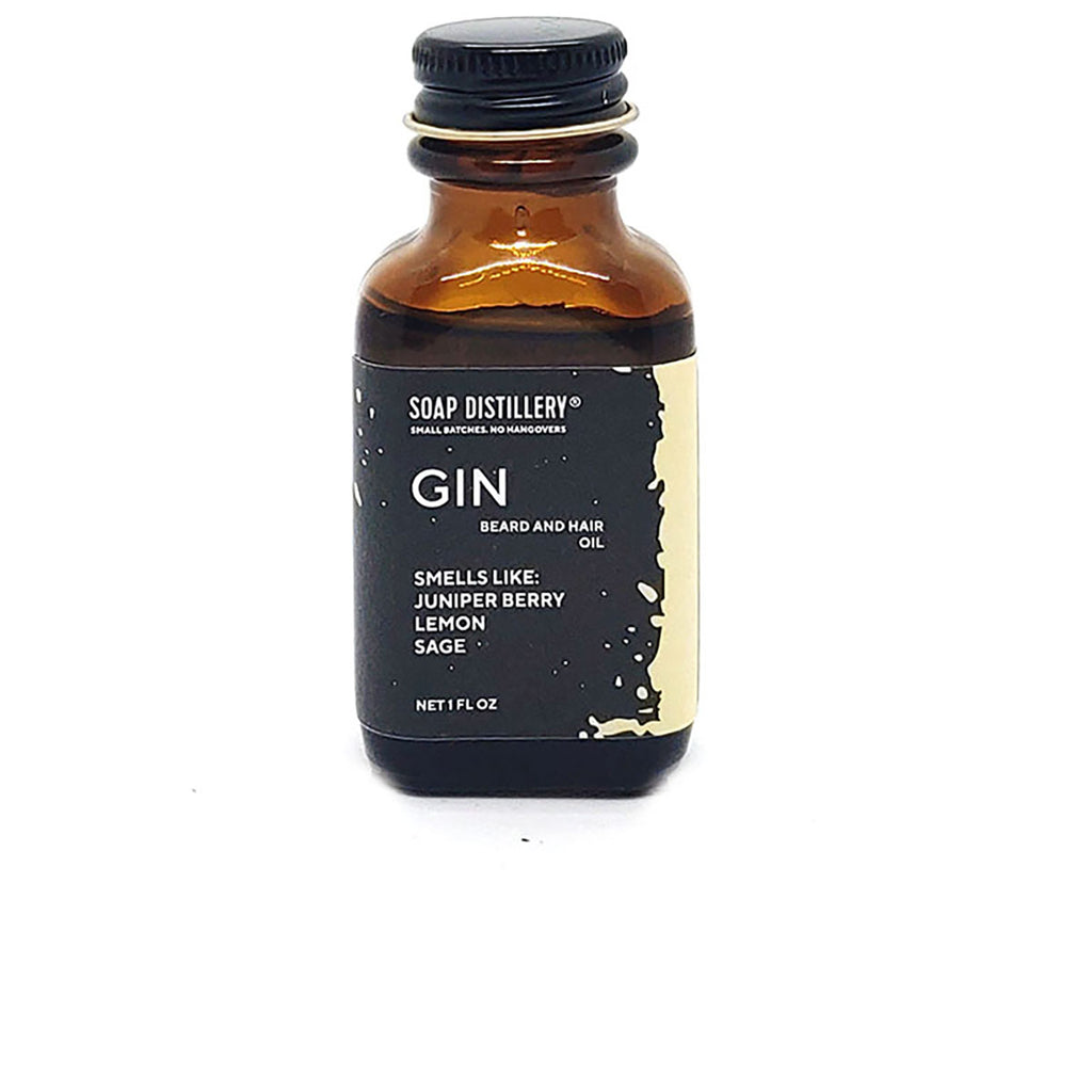 Gin Beard and Hair Oil