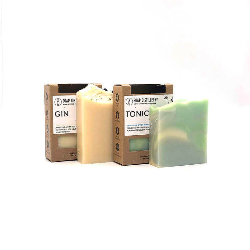 Gin + Tonic Soap Set