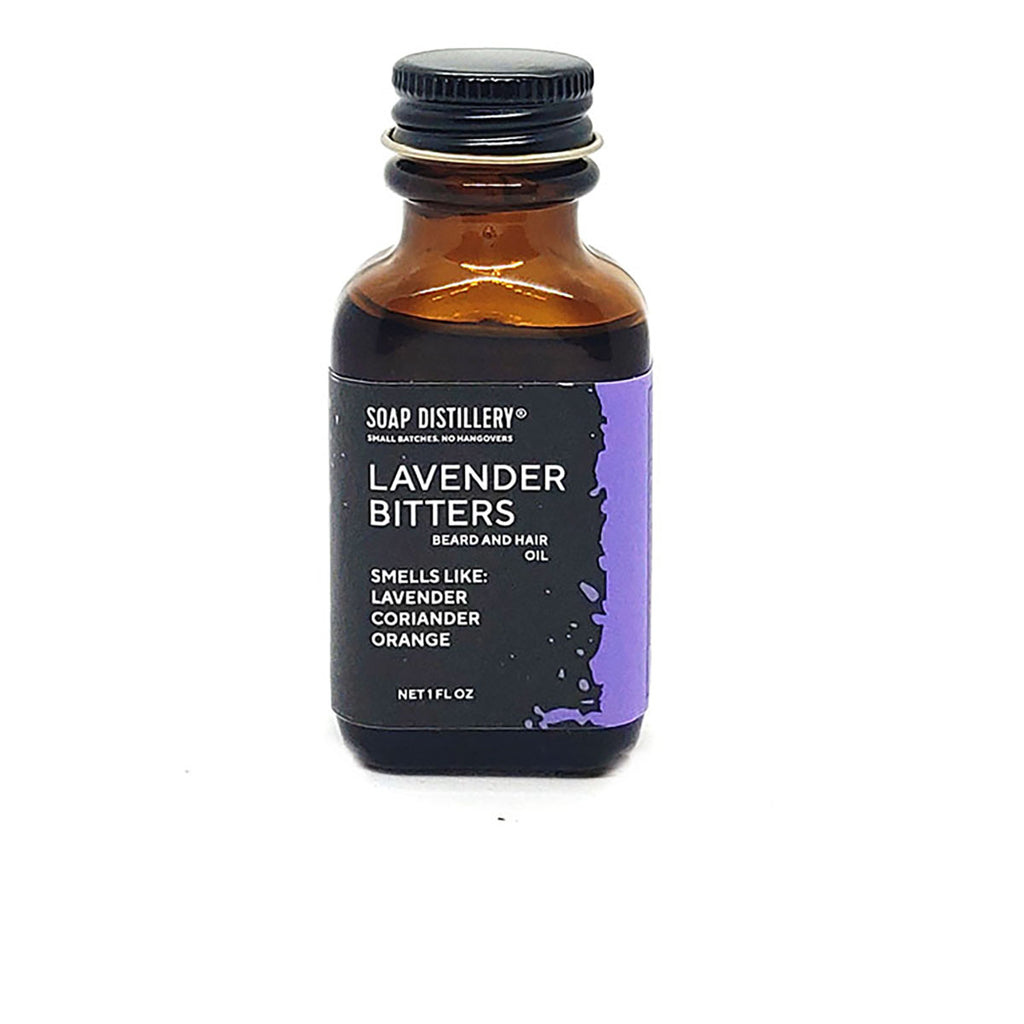 Lavender Bitters Beard and Hair Oil
