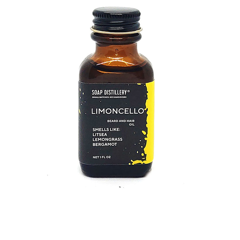 Limoncello Beard and Hair Oil