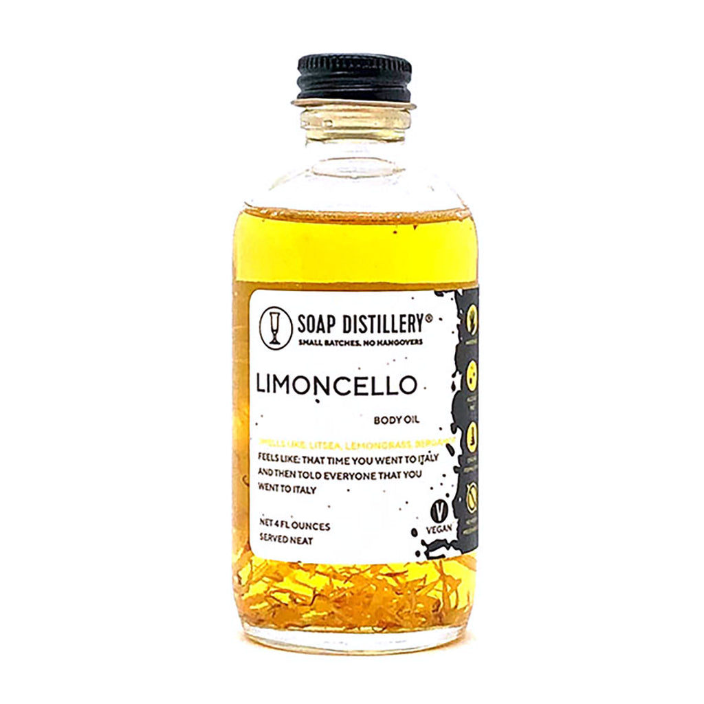 Limoncello Body Oil