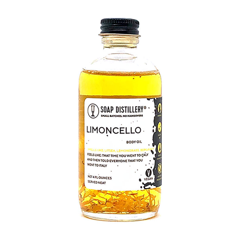 Limoncello Fragrance Body Oil