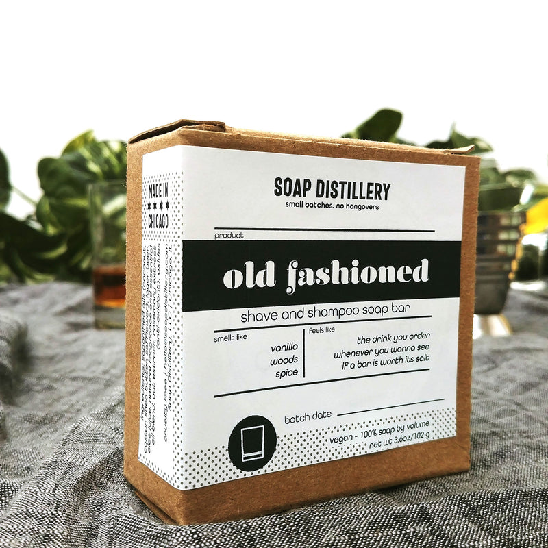Old Fashioned Shave and Shampoo Soap