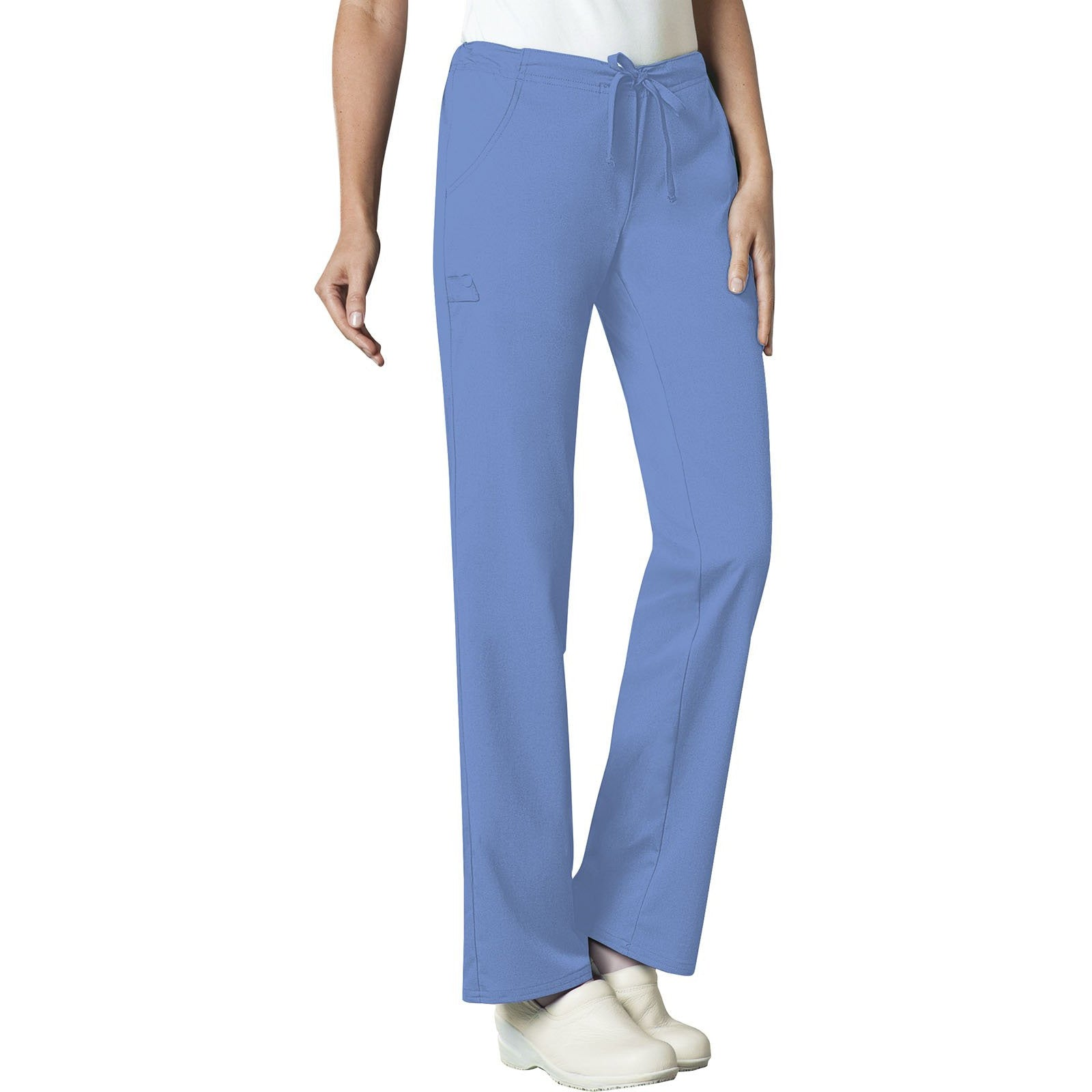 Low Rise Straight Leg Drawstring Pant 1066 (2XL-5XL) INSEAM 30 - 31""