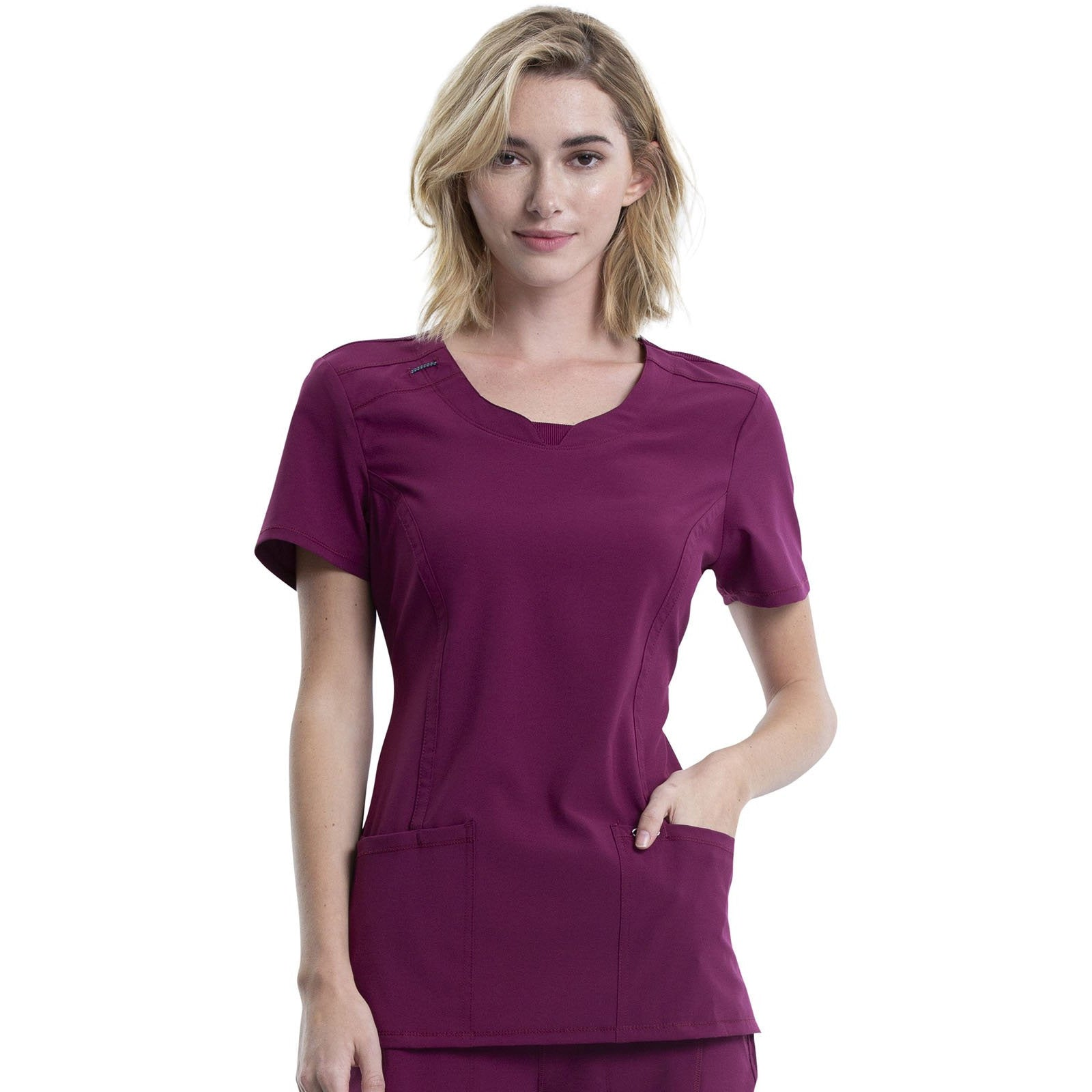 Infinity Round Neck Top 2624A (L-2XL)