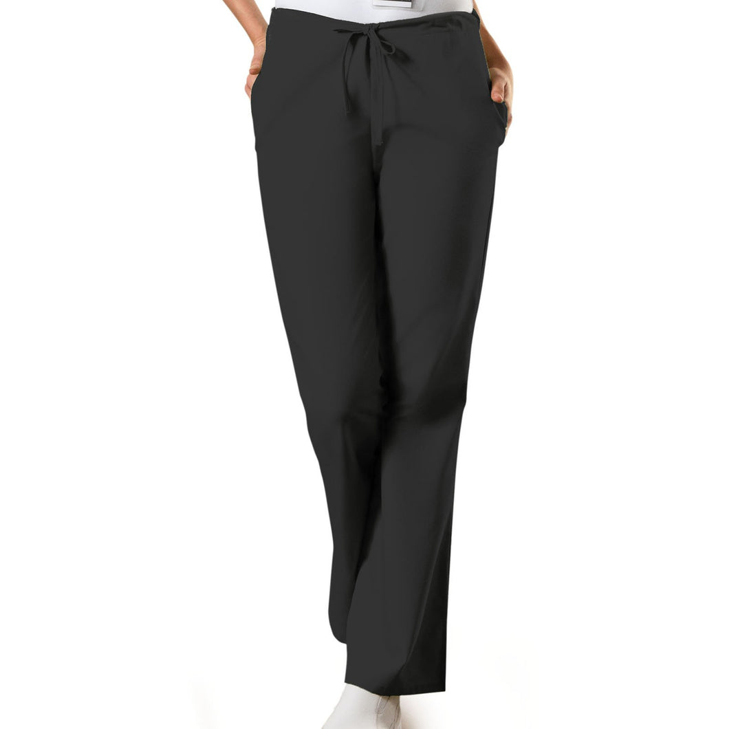 Natural Rise Flare Leg Drawstring Pant 4101 (L-3XL) INSEAM 30-31''