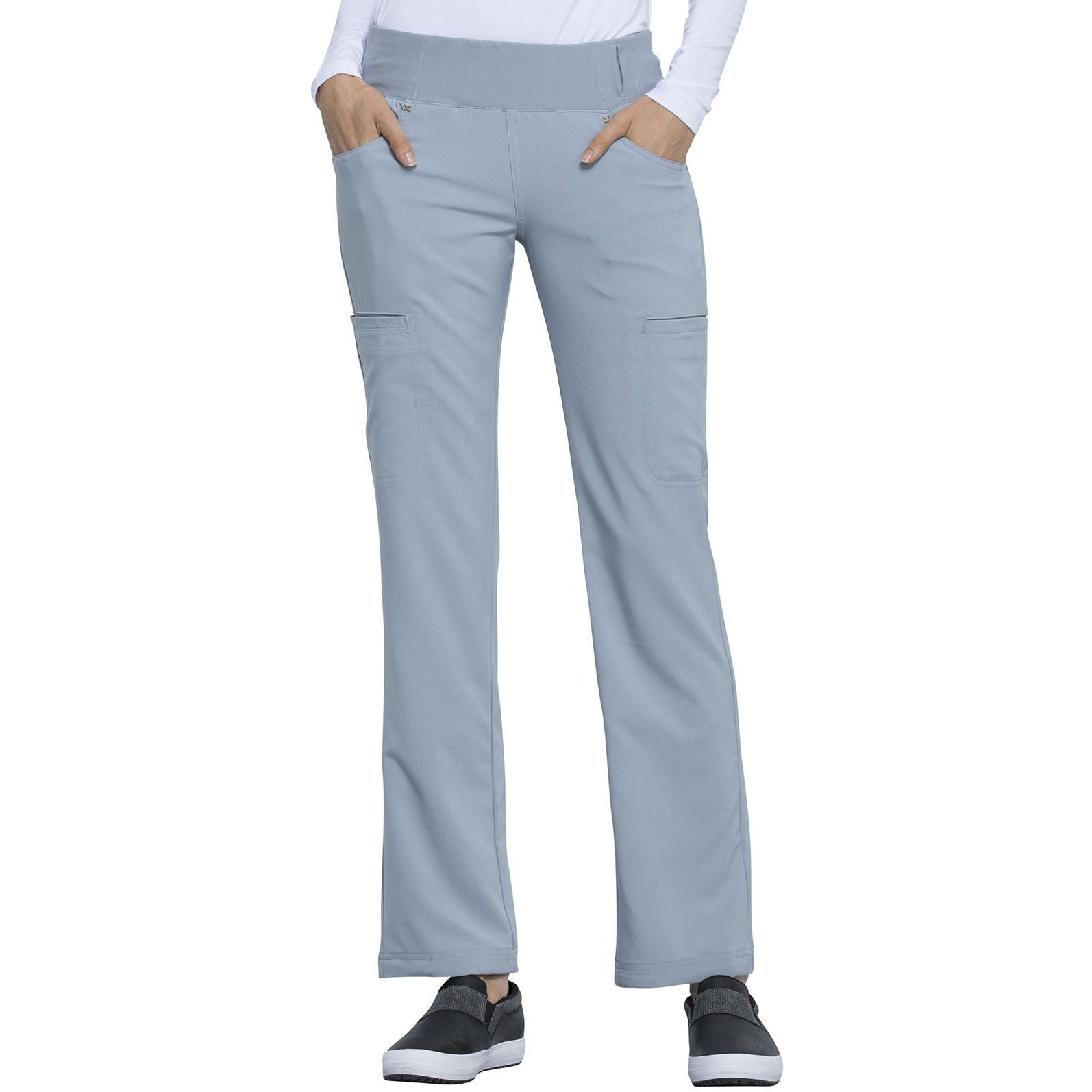 Mid Rise Straight Leg Pull-on Pant CK002T Tall INSEAM 33.5""