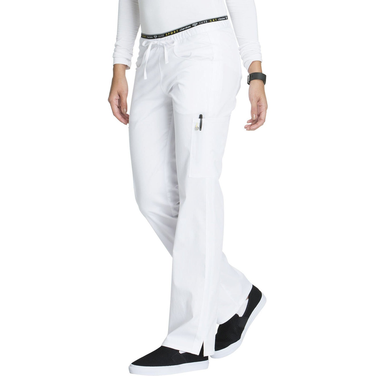 Mid Rise Straight Leg Pull-on Pant CK003P Petite INSEAM 28""