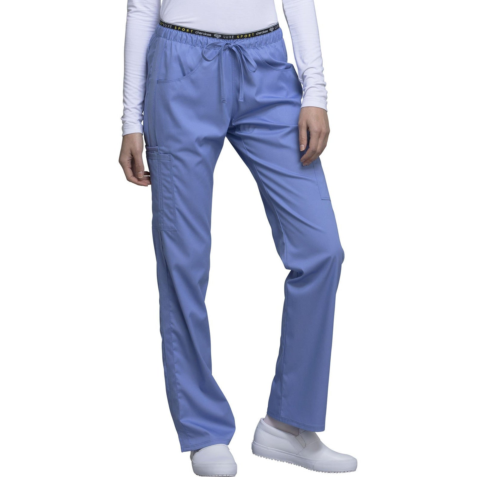 Mid Rise Straight Leg Pull-on Pant CK003 INSEAM 30.5""
