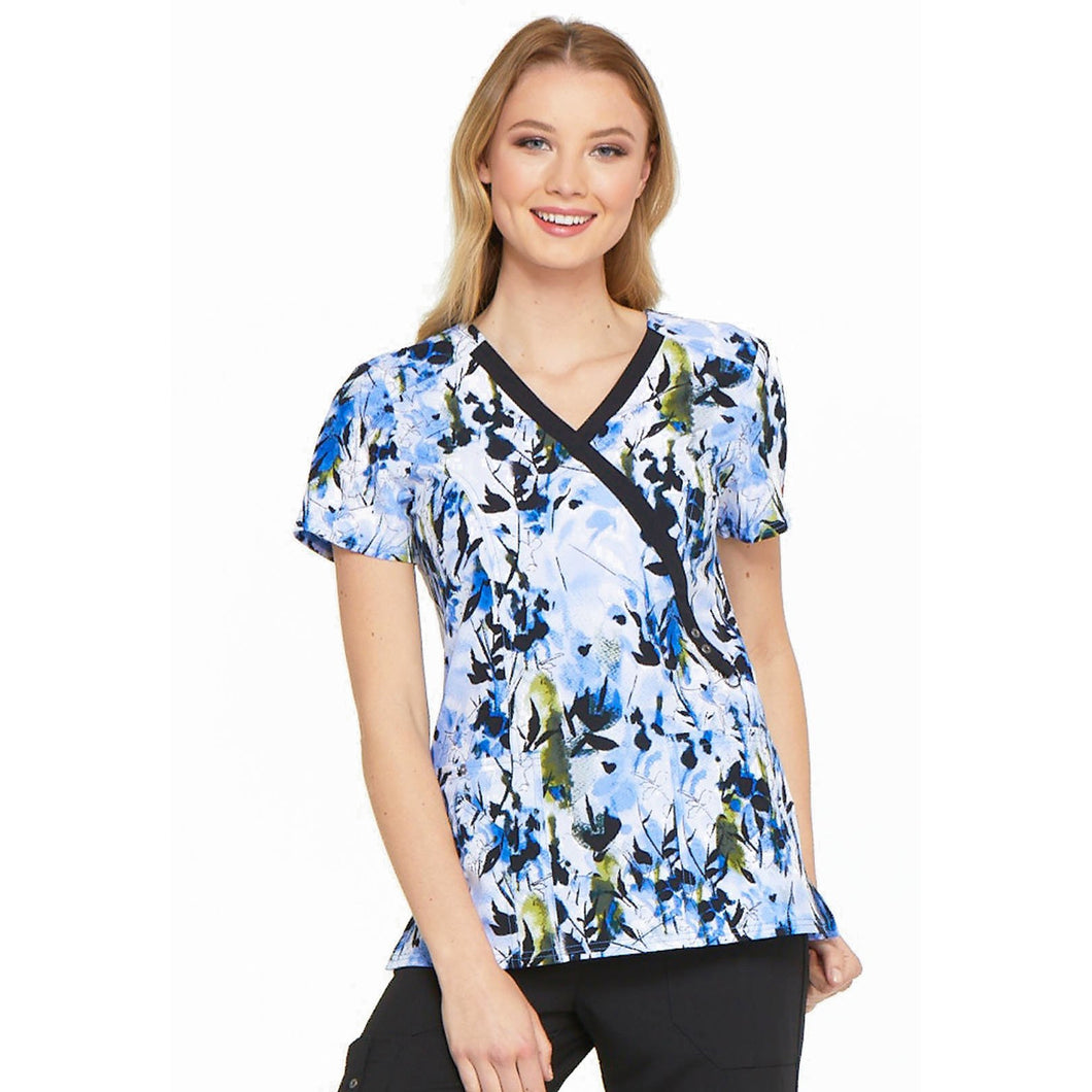 Dickies Prints Mock Wrap Top DK714 *FINAL SALE*