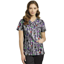 Load image into Gallery viewer, Printed V-Neck Top 742  *CLEARANCE SALE*