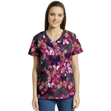 Load image into Gallery viewer, Printed V-Neck Top 718 *SALE*