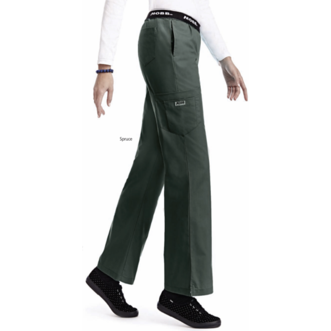 SET* CEYLON TOP 791CYL & 312P MOBB Flip Flap Scrub Pants CLEARANCE (SALE)
